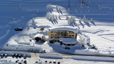 L'hotel in inverno